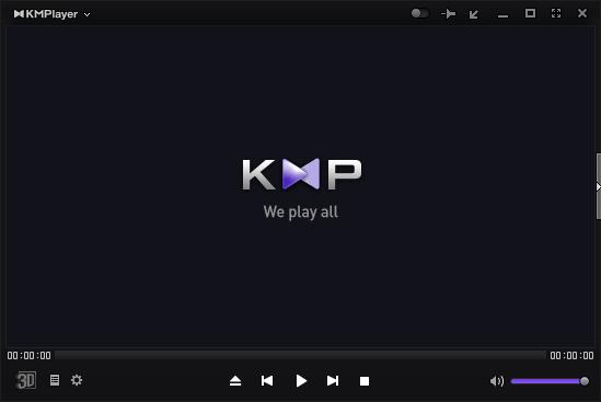 Внешний вид плеера KMP